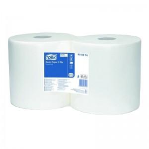 Двухслойная базовая протирочная бумага Tork 509253 (Блок: 2 рулона)