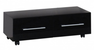 175402 Тумба Aquanet Верона 100 подкатная 00175402, цвет черный