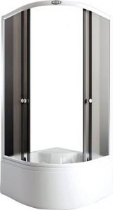 AS-302-8 Душевой уголок Arcus, 80 х 80 см, стекла матовые фактурные