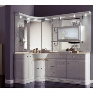 Комплект мебели Eurodesign Luxury Композиция № 15, Bianco Lucido/Белый глянцевый
