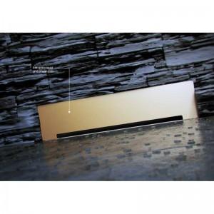 13100061 Душевой лоток Pestan Confluo Premium Wall Drain Gold пристенный, золото