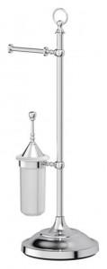 Стойка 3SC Stilmar UN STI 033 с 2-мя аксессуарами для туалета 80 см, хром