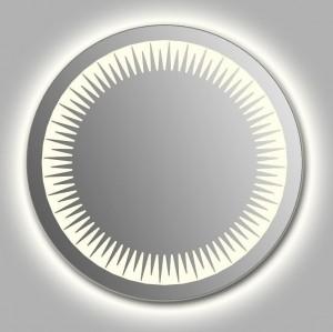Зеркало Wenz Design D-rio-contour круглое / с контурной подсветкой