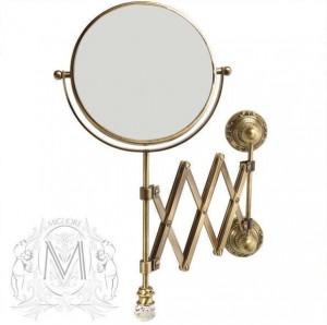 Настенное косметическое зеркало Migliore.CRistalia ML.CRS-60.219.BR - бронза