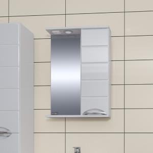 Зеркальный шкаф СаНта Родос 60 левый/правый, с подсветкой