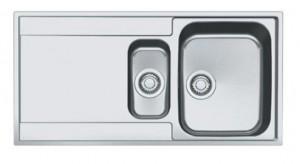 127.0296.444 Мойка Franke MARIS MRX 251 G,, установка сверху, SlimTop, оборачиваемая, нержавеющая сталь, полированная, 100*51 см