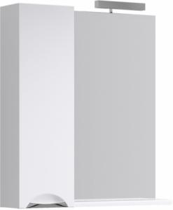 Зеркало с подсветкой и шкафчикомAqwella Лайн 85 Li.02.08