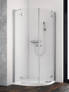 385001-01-01L/385003-01-01R Душевой уголок Radaway Essenza New PDD 90L x 100R, стекло прозрачное