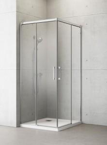 387061-01-01L/387062-01-01R Душевой уголок Radaway Idea KDD 80 x 100 см, стекло прозрачное