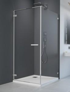 386081-03-01L/386024-03-01 Душевой уголок Radaway Arta KDJ I 120 x 80 см, левая дверь, стекло прозрачное
