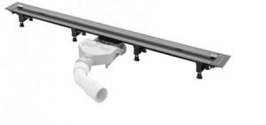 721671 Душевой лоток Viega Advantix под дизайн-вставку, корпус, подрезной, 70 мм, (плоская модель)