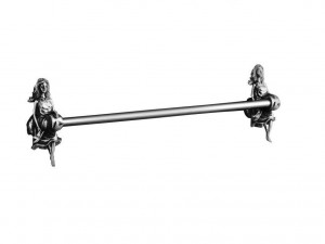 Полотенцедержатель Art&Max Athena AM-0617-T, серебро