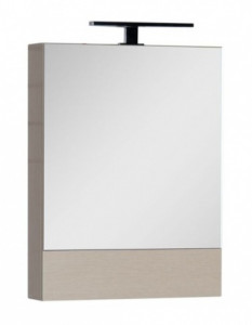 Зеркало-шкаф Aquanet Нота 58 (камерино) 00158856, цвет светлый дуб