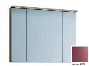 Зеркальный шкаф со светодиодной подсветкой Kolpa San Adele 90, TO 90 RED, цвет - красный матовый (red mat)