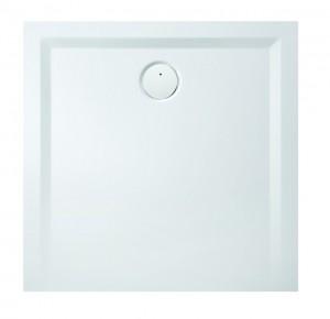 4160xA Душевой поддон Hoesch MUNA 80 x 80 x 3 см, квадратный, из искусственного камня