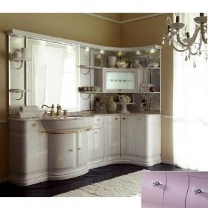 Комплект мебели Eurodesign Luxury Композиция № 2, Lilla Lucido/Лиловый окрашеный