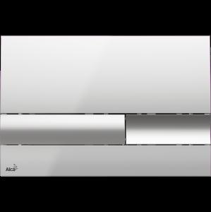 M1743 Кнопка управления AlcaPlast хром-глянцевая/матовая