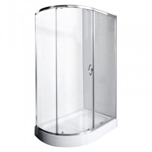 FI-A180120-R Душевой уголок Rush Fiji/L, 80 х 120 х 190, стекло прозрачное