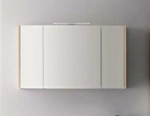 Зеркальный шкаф Cerasa Velvet/Movida 120 см, S71 762 C0 Tavolato Biscotto
