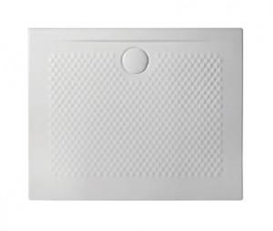 PDR019 01; 00 Поддон ArtCeram Texture 100 х 80 х 5,5 см,, прямоугольный, цвет - белый глянцевый, из искусственного камня