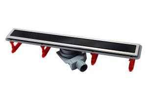 13000295 Душевой лоток Pestan Confluo Premium With Black Glass Line 850, решетка черное закаленное стекло-сталь
