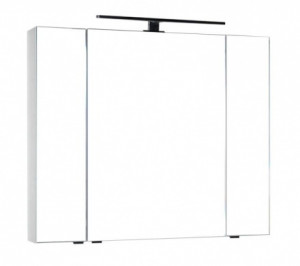 Зеркало-шкаф Aquanet Эвора 100 00185194, цвет белый