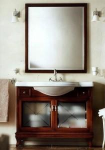 Комплект мебели Labor Legno MARRIOT Composizione M104, вишня/хром, 105 см