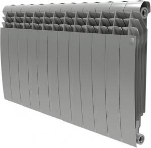 Радиатор биметаллический Royal Thermo BiLiner 500 Silver Satin, 12 секций