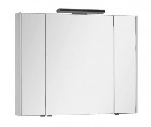 Зеркало-шкаф Aquanet Франка 105 00183047, цвет белый
