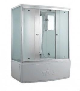 T-8870 F Душевой бокс Timo Comfort Fabric Glass, стекло матовое, 170 x 88 см