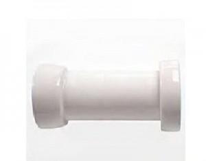 7548bi Керамический отвод Kerasan Retro для слива в стену 21/22см,, цвет белый