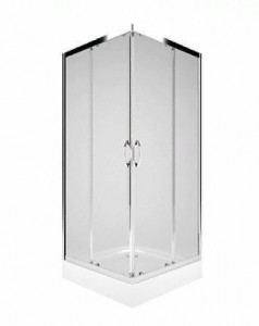 PKDK90222003 Душевой уголок Kolo Rekord, квадратный, 90 х 90 х 185 см стекло прозрачное