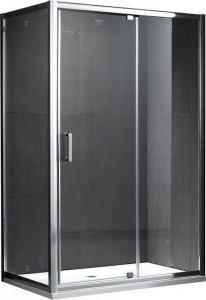 S28131A-A100 (S28191A + A100) Душевой уголок Gemy Sunny Bay, 100 х 100 см, стекло прозрачное