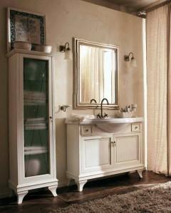 Комплект мебели Labro Legno MARRIOT Composizione M102, бежевый с патиной/бронза, 105 см
