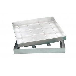 Сантехнический люк напольный Revizor DRAGO 50х50 см под тротуарную плитку и брусчатку
