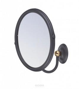 ART&MAX SOPHIA AM-2143-Nero/Do-Ant Увеличительное зеркало подвесное , цвет черный /Античное золото