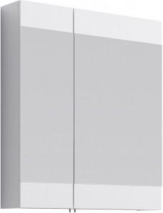 Шкаф зеркальный Aqwella Бриг 75 Br.04.07/W, белый