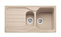 Мойка Franke CALYPSO COG 651, 114.0185.006, гранит, установка сверху, оборачиваемая, цвет сахара, 97*50 см