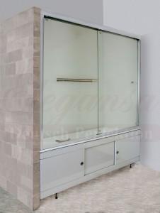 3100 Душевая шторка Elegansa, 180*150 см