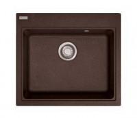 Мойка Franke MARIS MRG 610-58, 114.0060.684, гранит, установка сверху, цвет серебристый, 58,5*52 см