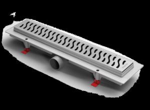 ALP-1050/50H1 Душевой водоотводящий желоб Alpen Harmony 1050 мм хром матовый