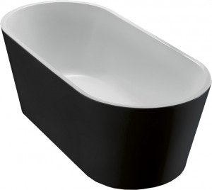 BELBAGNO Акриловая ванна BELBAGNO BB71-1800-NERO, 1800x800x600