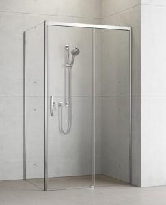 387040-01-01R/387053-01-01L Душевой уголок Radaway Idea KDJ 100 x 110 правый, стекло прозрачное