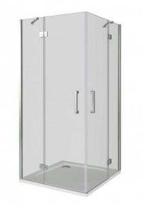 СА00015 Душевое ограждение Good Door Saturn CR-100-C-CH 100 х 100 х 185 см,, стекло прозрачное, хром