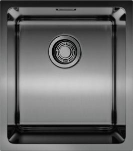 4993079 Мойка кухонная Omoikiri Tadzava 39-U-GM вороненая сталь