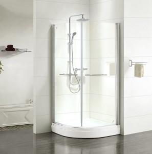 E20R099i23 Душевой уголок Iddis Elansa, 90 х 90 х 185 см, стекло прозрачное