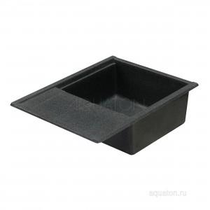 Мойка для кухни Aquaton Делия 65 графит 1A718632DE210