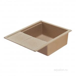 Мойка для кухни Aquaton Делия 65 песочный 1A718632DE220