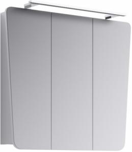 Зеркальный шкаф Aqwella Simphony Sim.04.08/W 80 см, белый