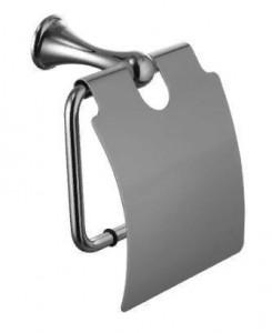 Держатель туалетной бумаги Lemark Standard LM2134C, с крышкой